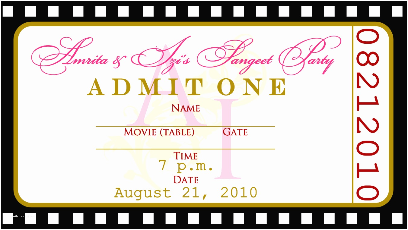 Printable Party Invites Templates
