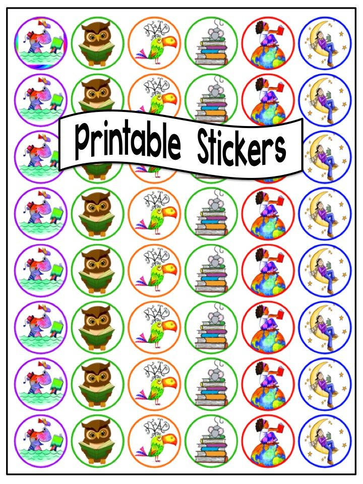 Printable Sticker Templates