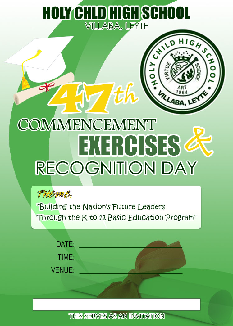 Recognition Day Program Invitation Template