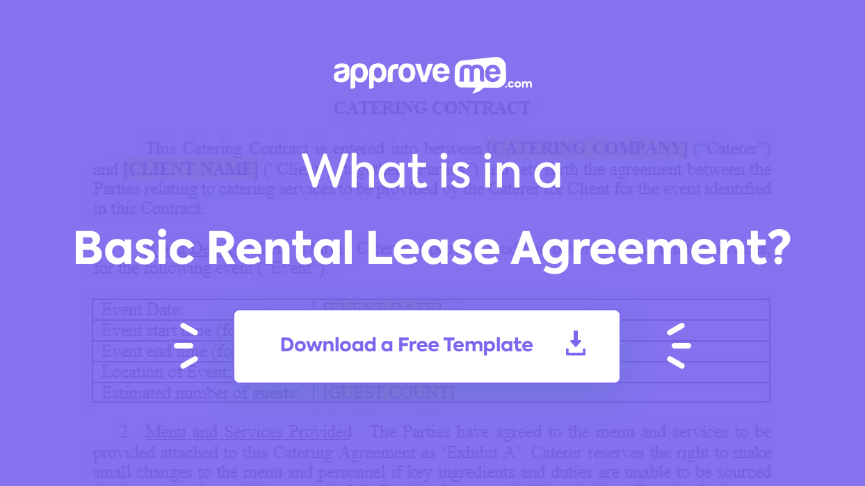 Rental Leases Templates