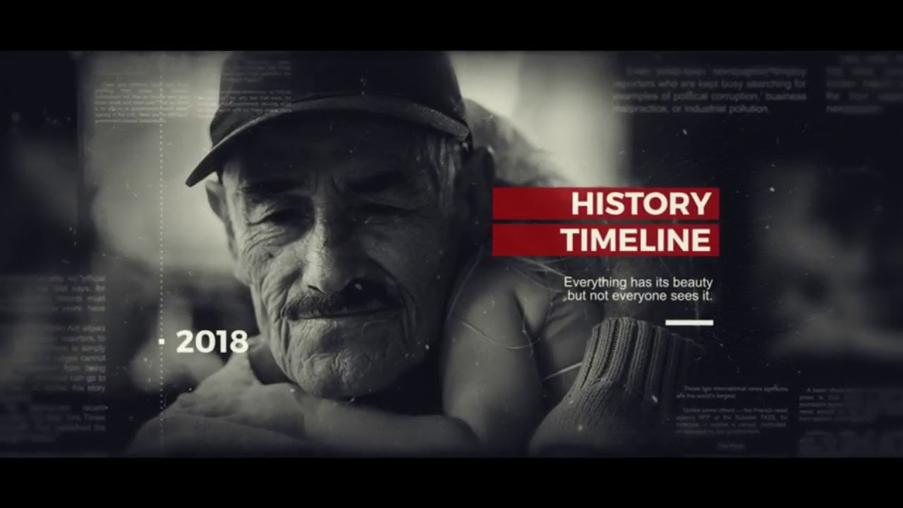 Timeline After Effects Template