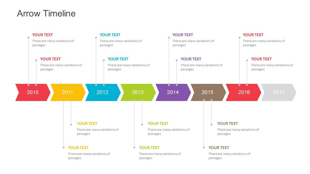 Timeline Downloadable Roadmap Template