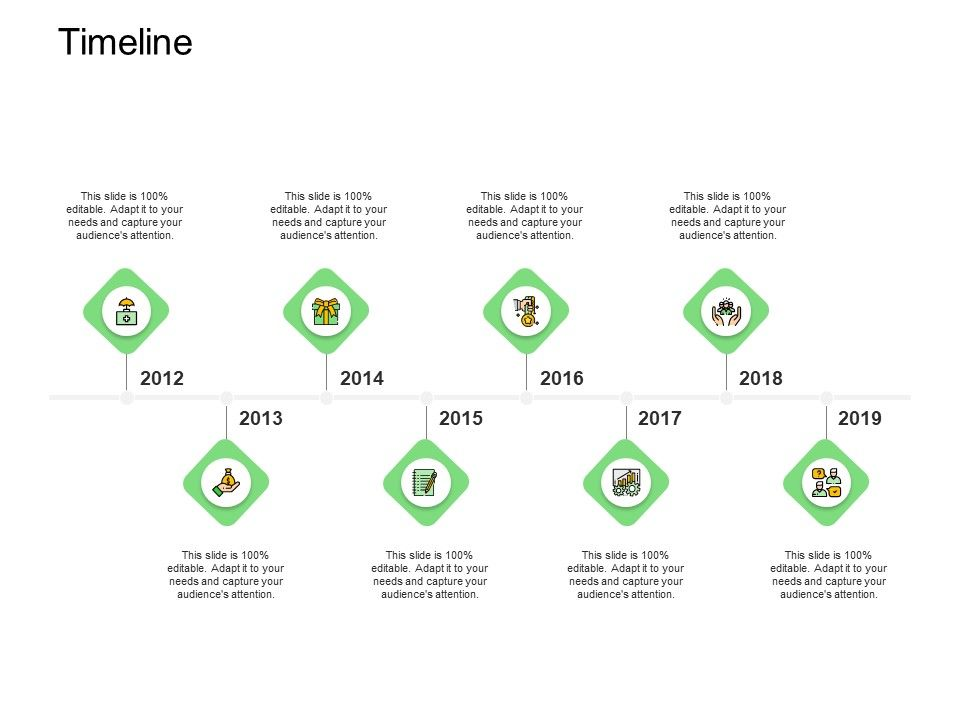 Timeline Roadmap Template Ppt