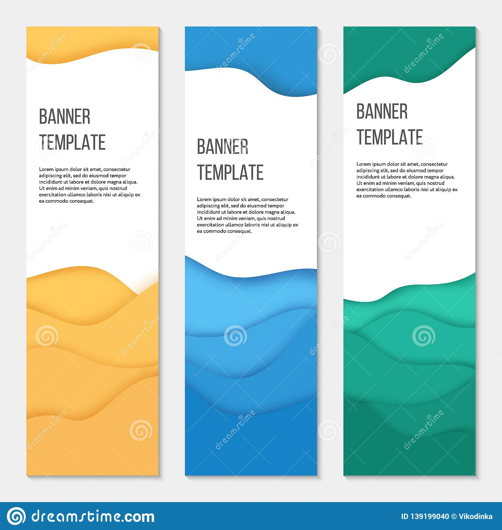 Vertical Banner Templates