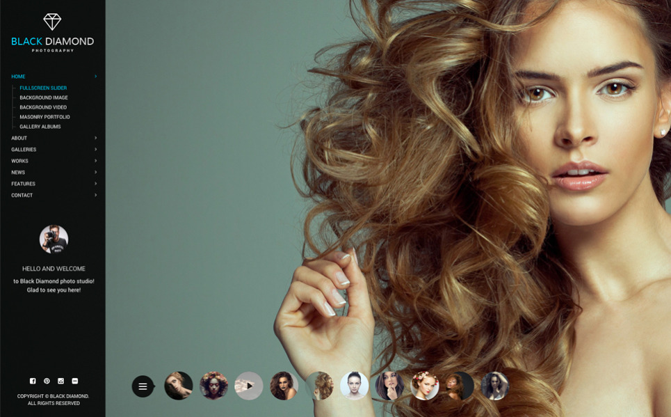 Videography Website Template Free