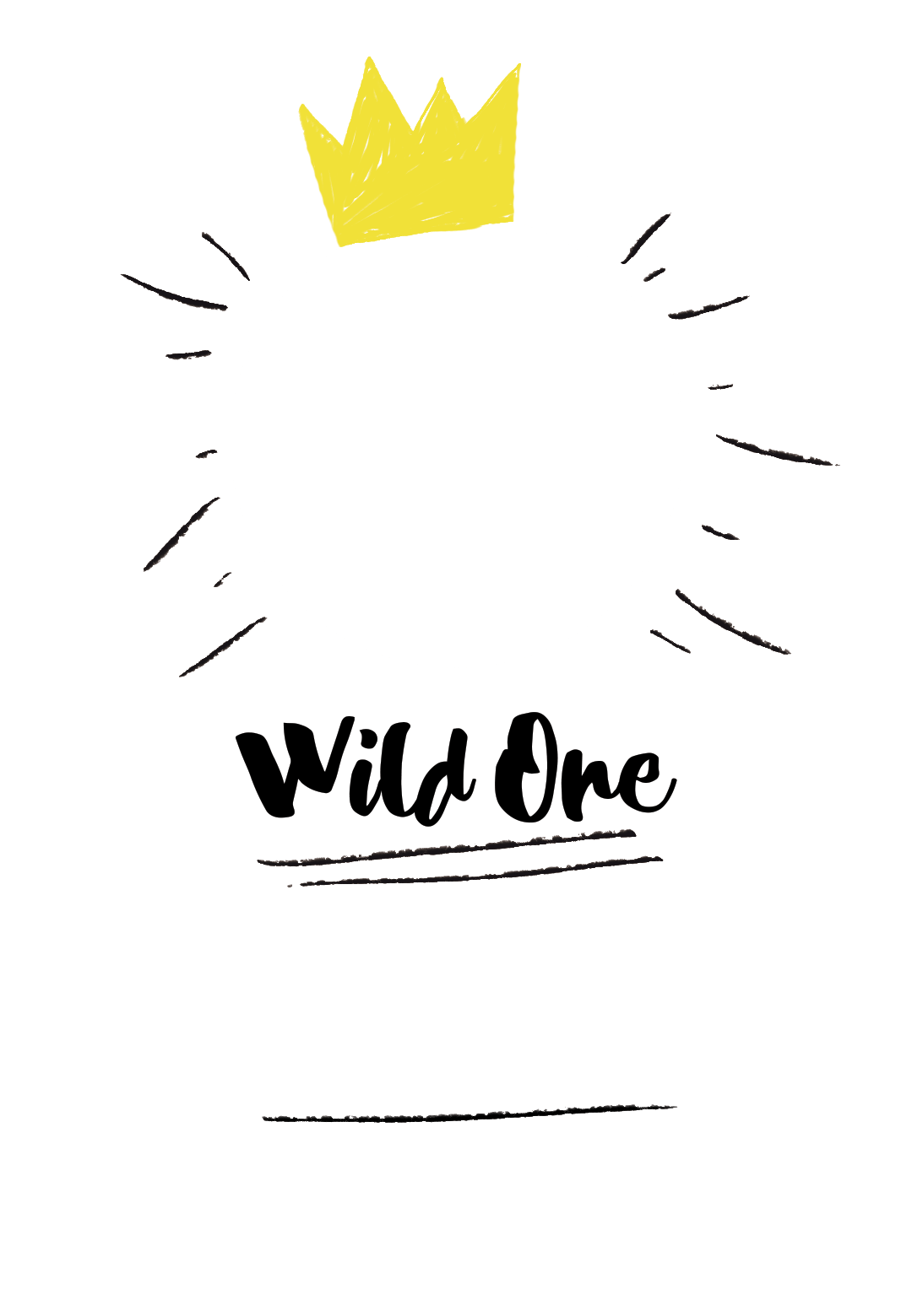 Wild One Birthday Invitations Free Template