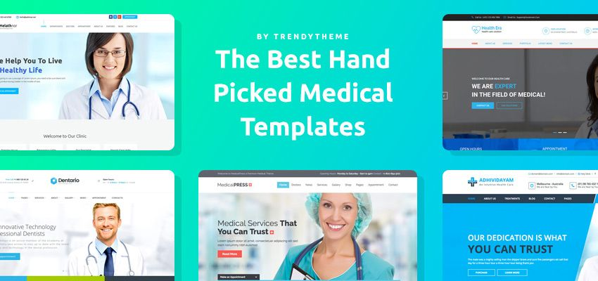 Wordpress Medical Templates