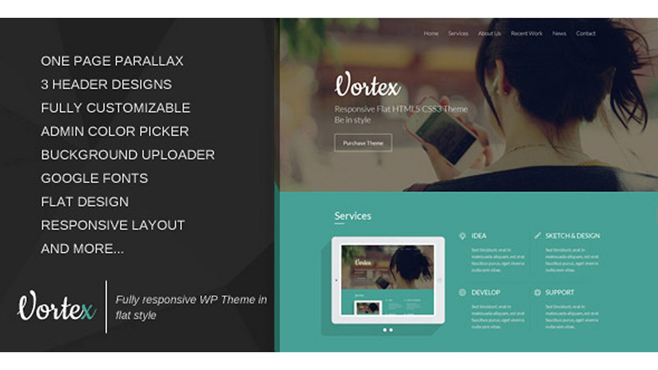 Wordpress Parallax Templates