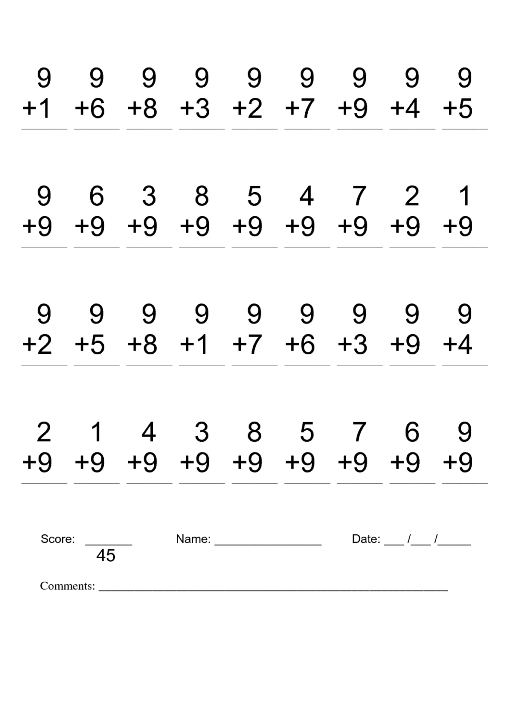 2nd Grade Math Worksheets Pdf Packet