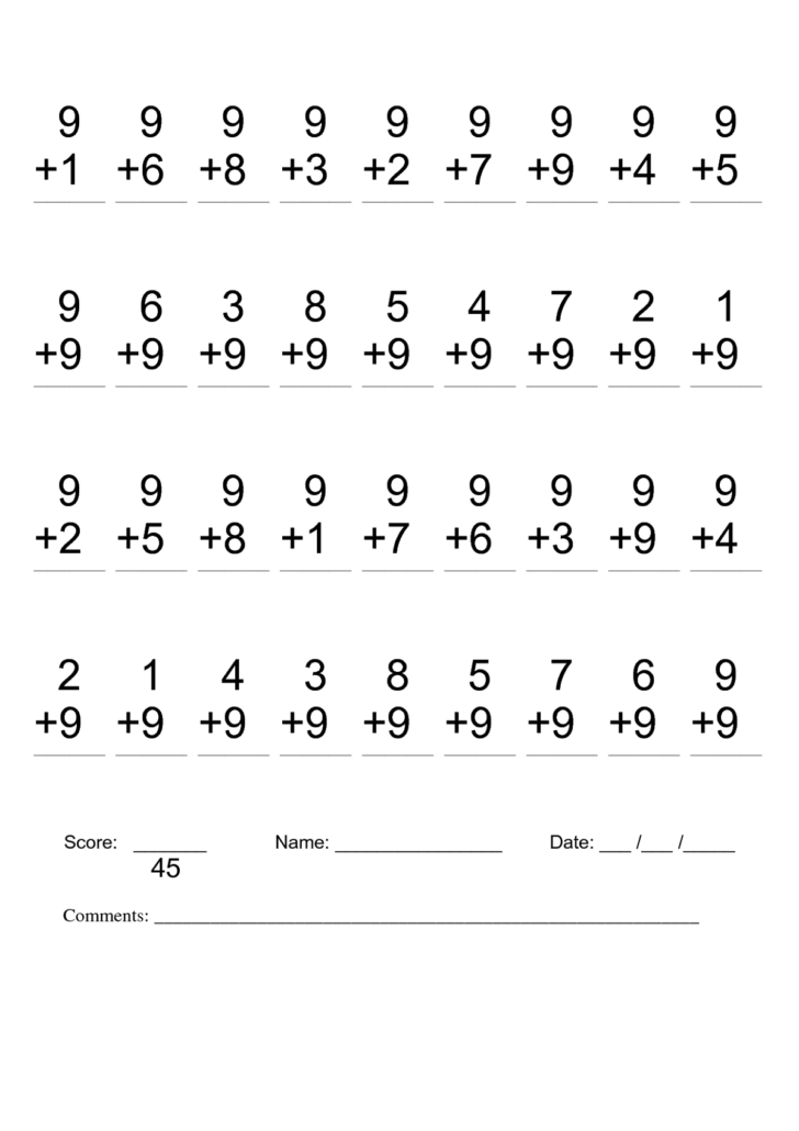 2nd Grade Math Worksheets Pdf
