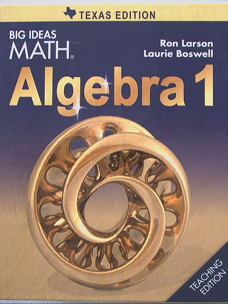 Algebra 1 Textbook Pdf Big Ideas Math