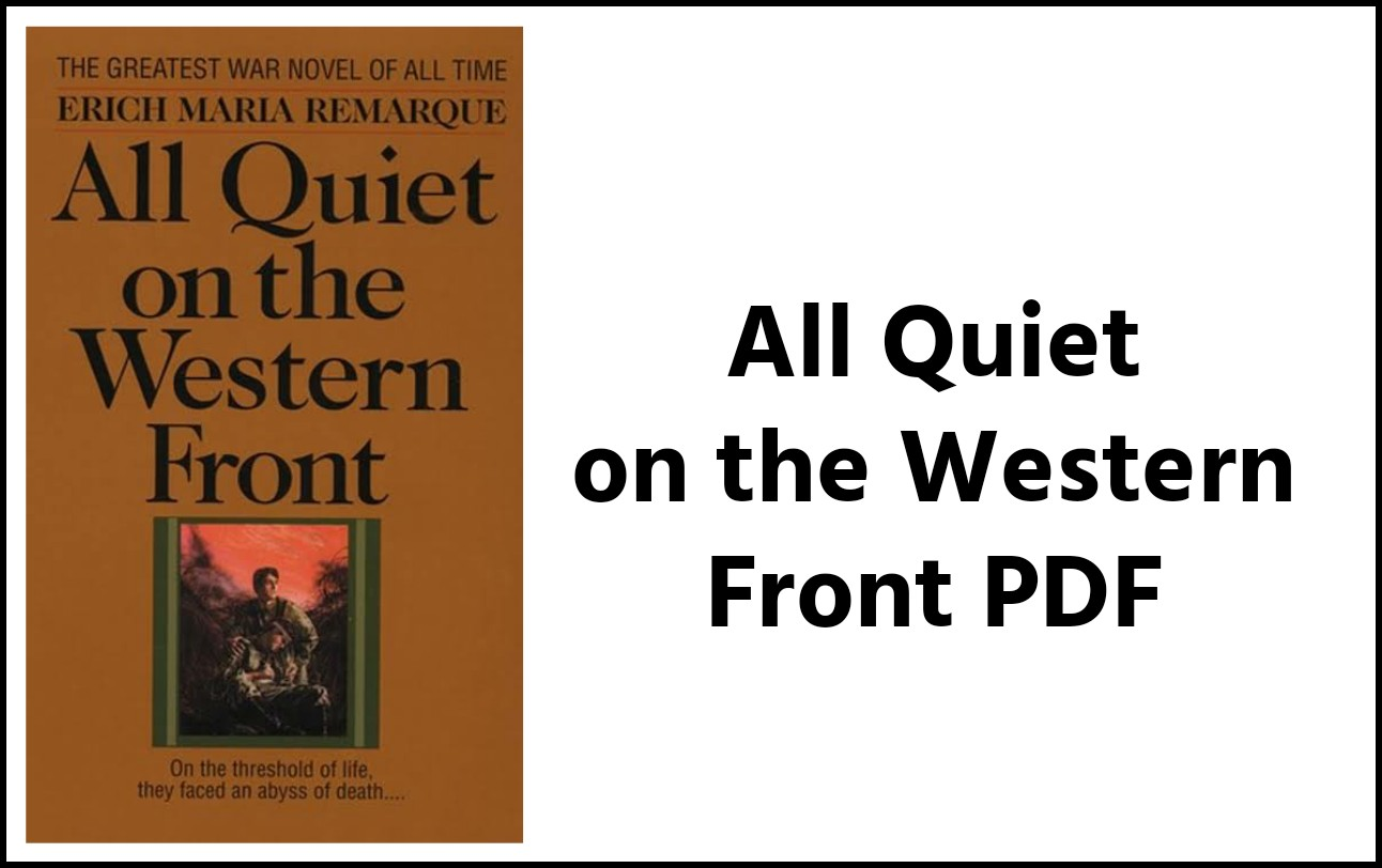 All Quiet On The Western Front Pdf Download