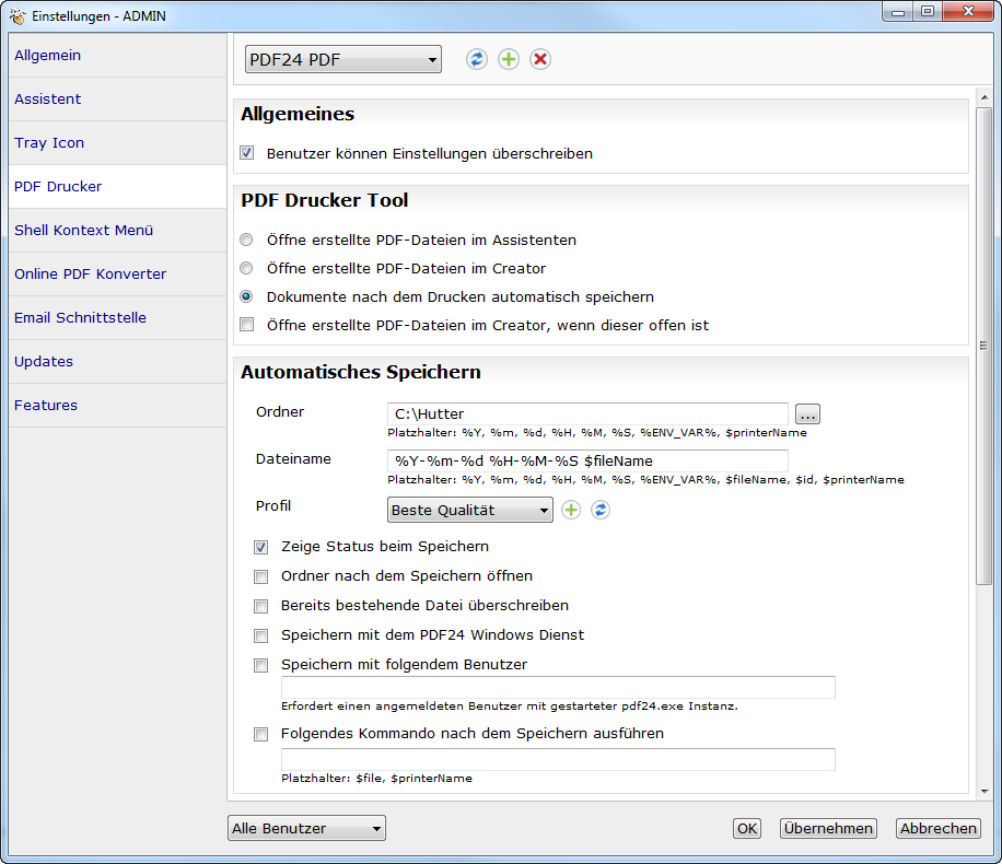 Bullzip Pdf Printer Autosave