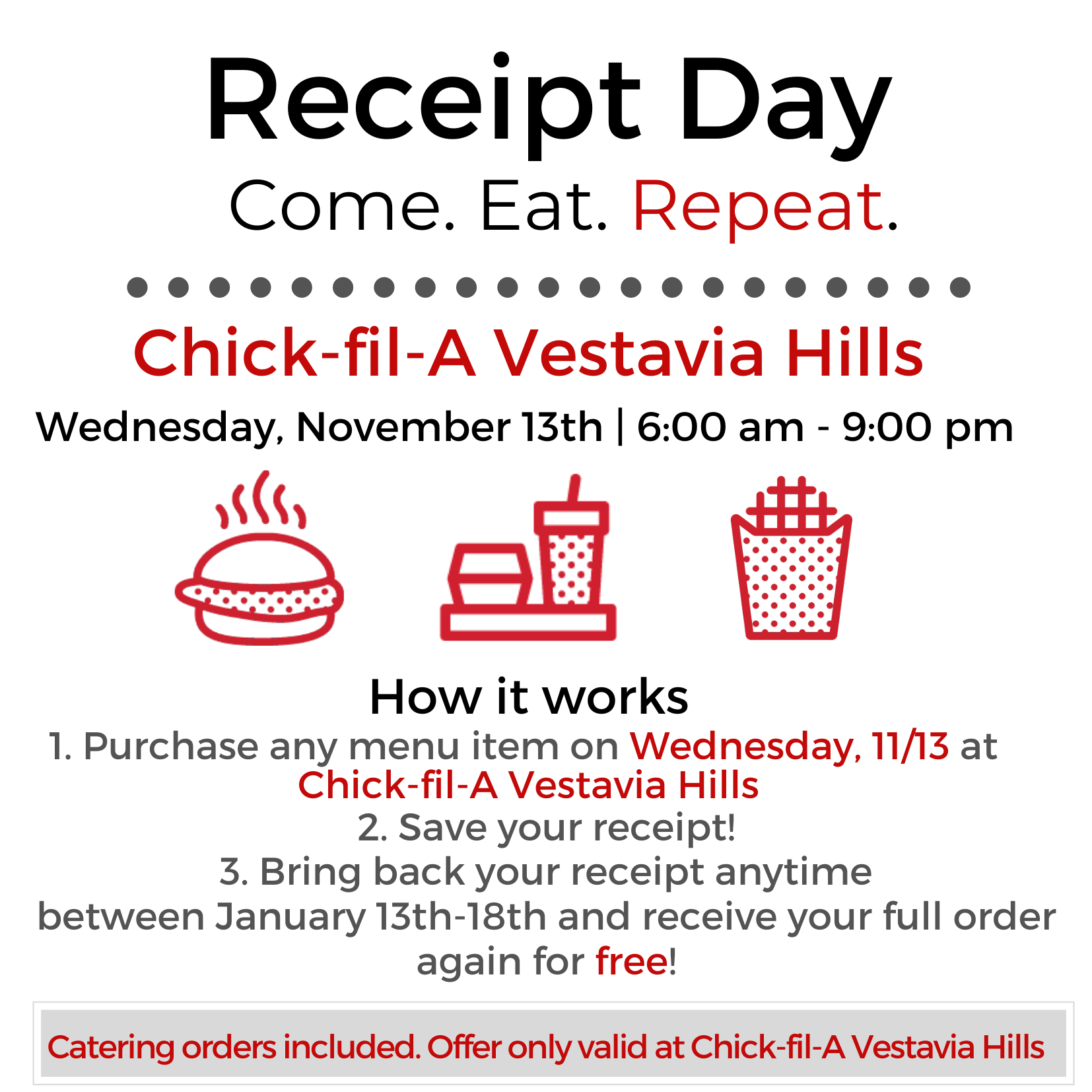 Chick Fil A Catering Menu Pdf