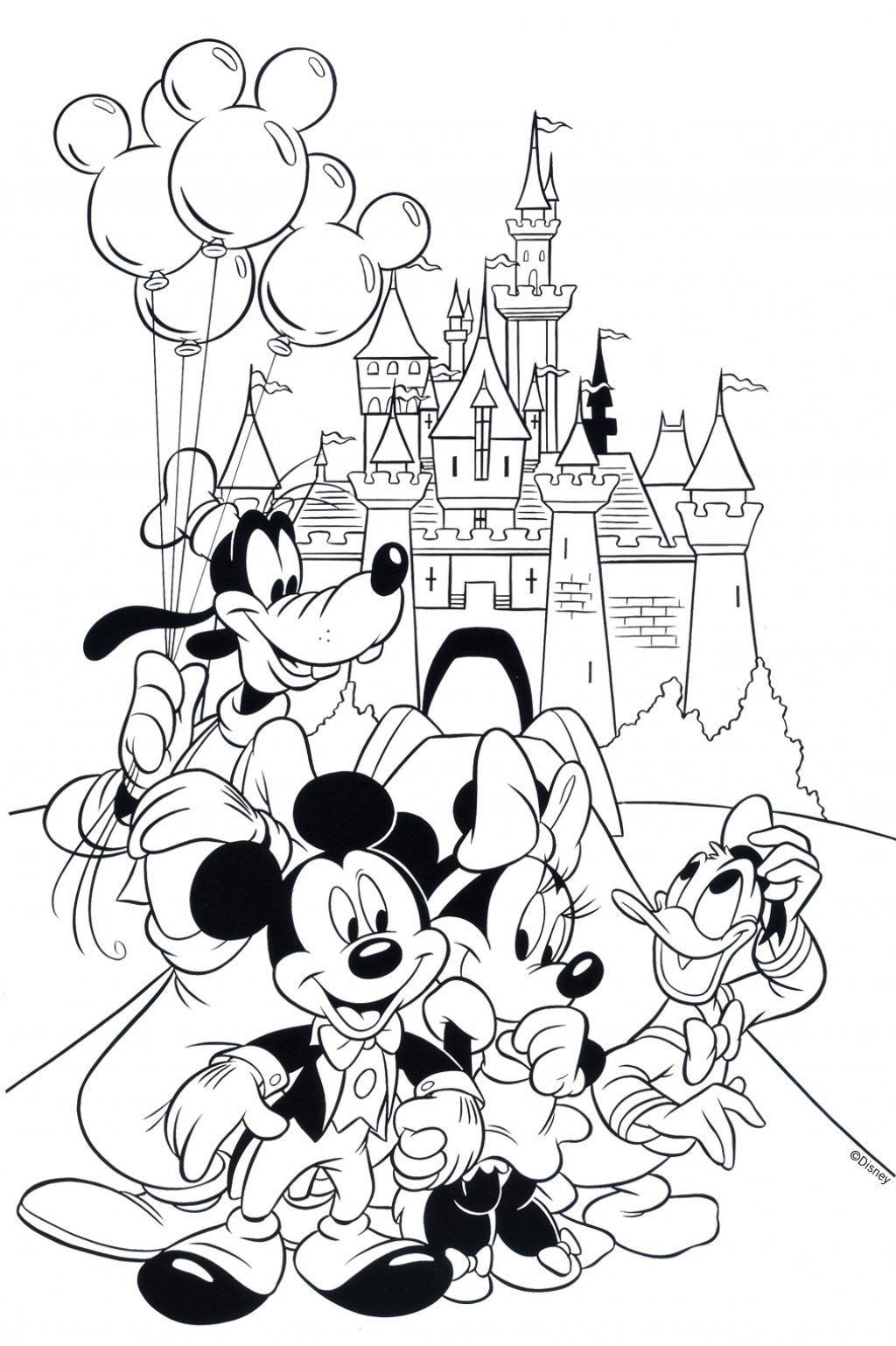 Coloring Pages Pdf Disney
