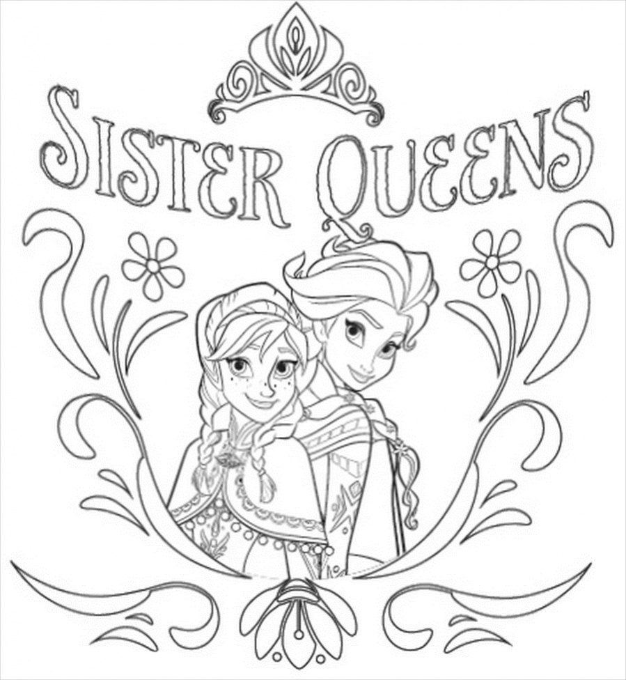 Printable Frozen Coloring Pages 14 Free Frozen Coloring Pages Pdf Download