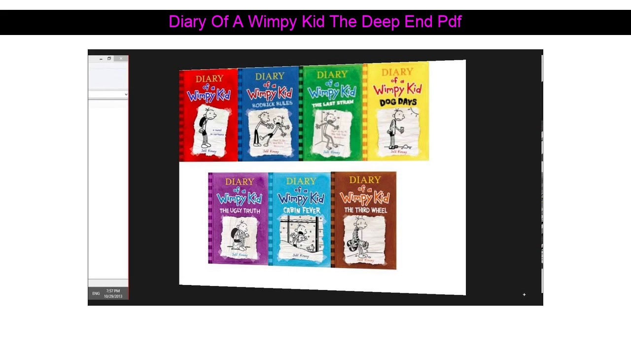 Diary Of A Wimpy Kid Deep End Pdf