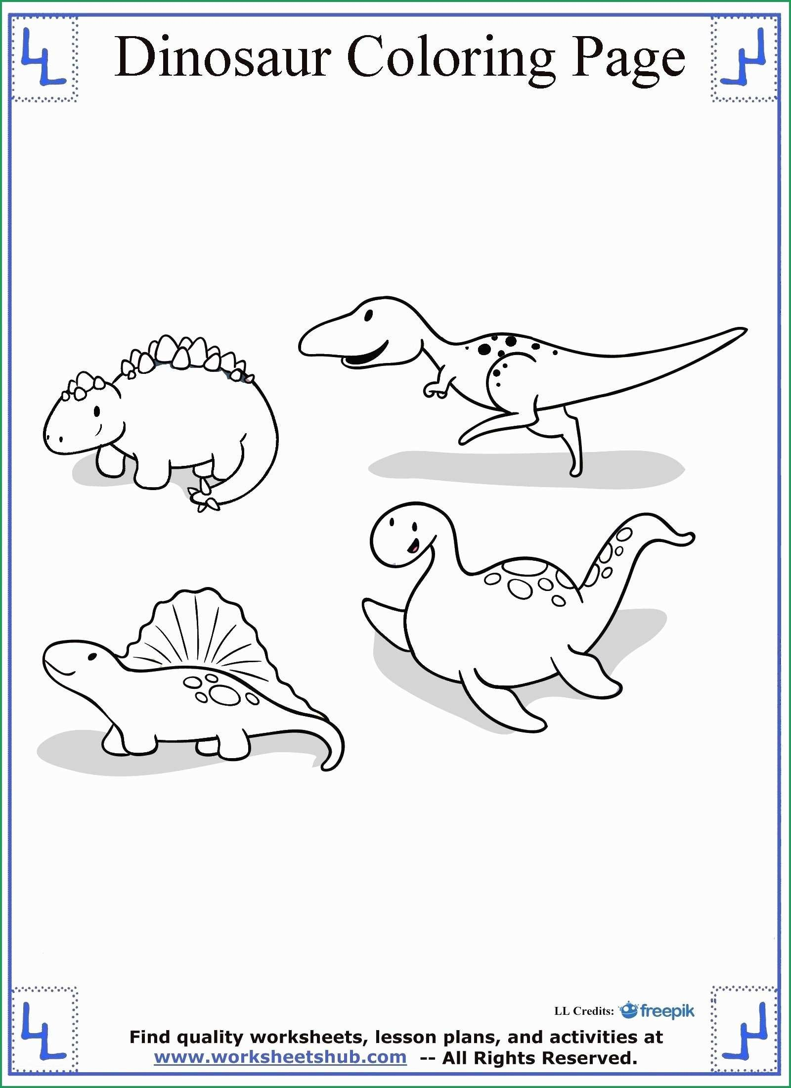 Dinosaur Coloring Page Printable Dinosaur Coloring Pages Pdf Best Of Dinosaur Coloring