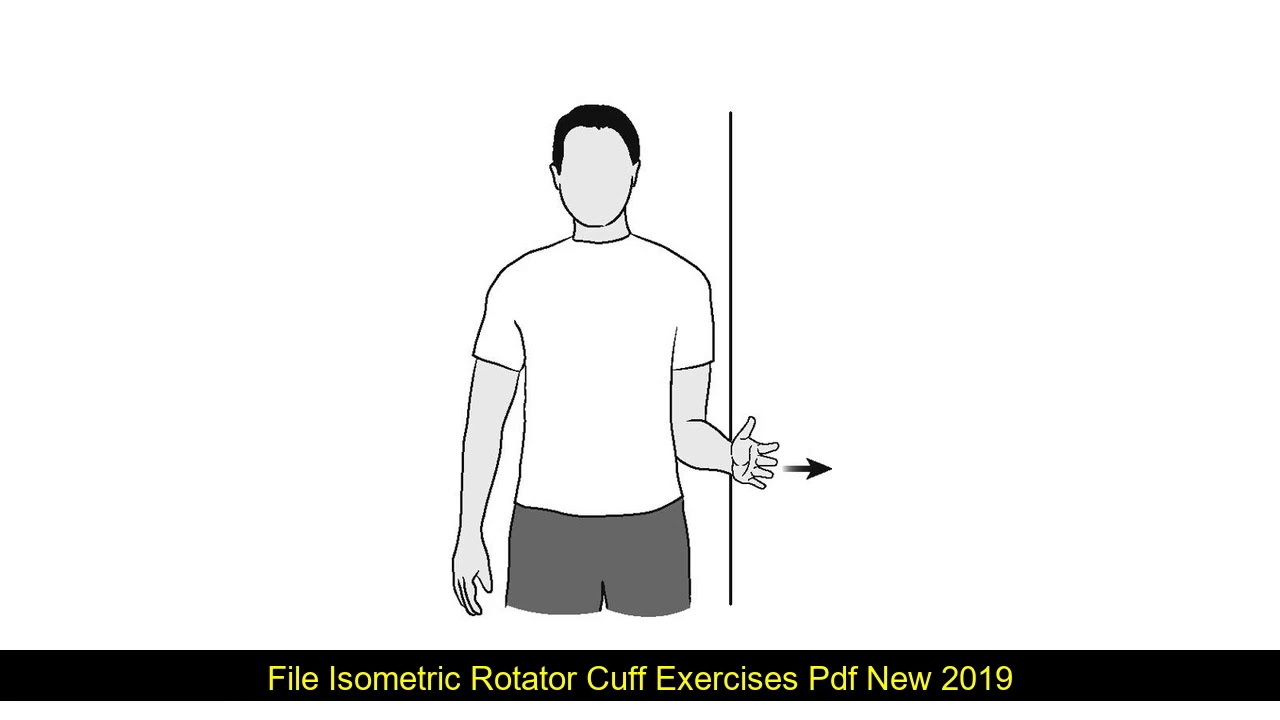 Isometric Rotator Cuff Exercises Pdf
