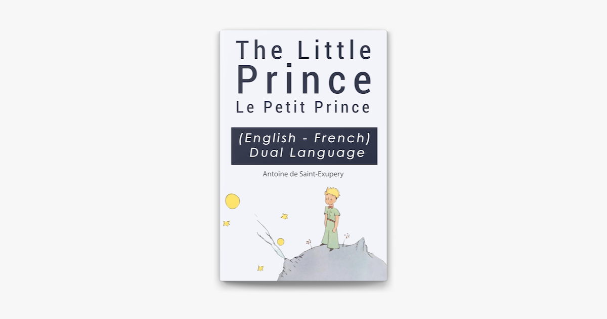 Le Petit Prince Pdf English And French Side By Side