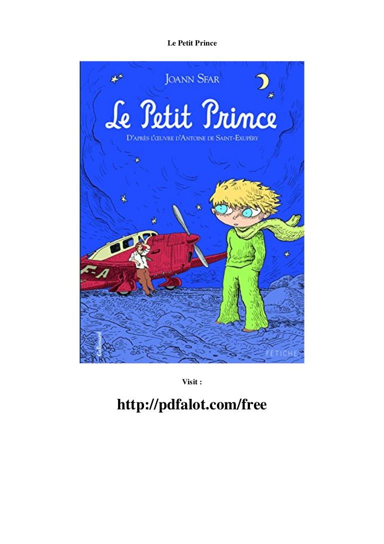 Le Petit Prince Pdf