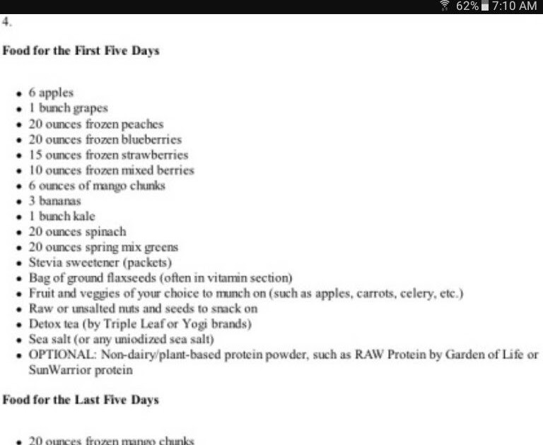 Pdf 10 Day Green Smoothie Cleanse Recipes