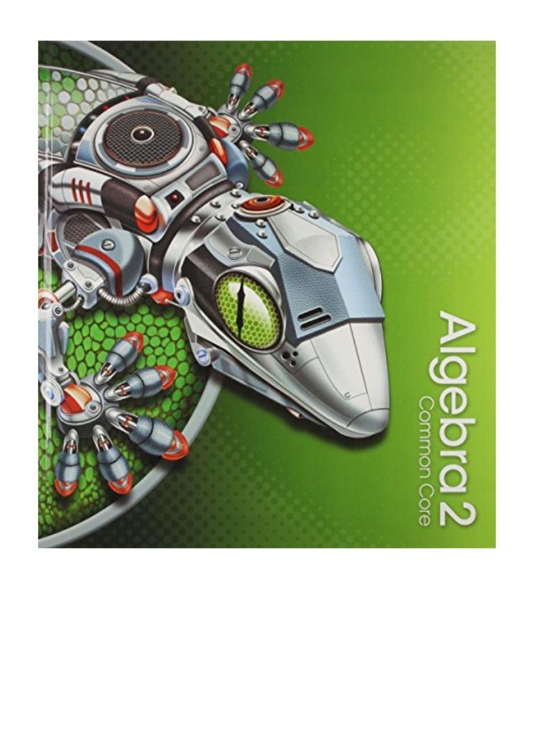Pearson Algebra 2 Textbook Pdf