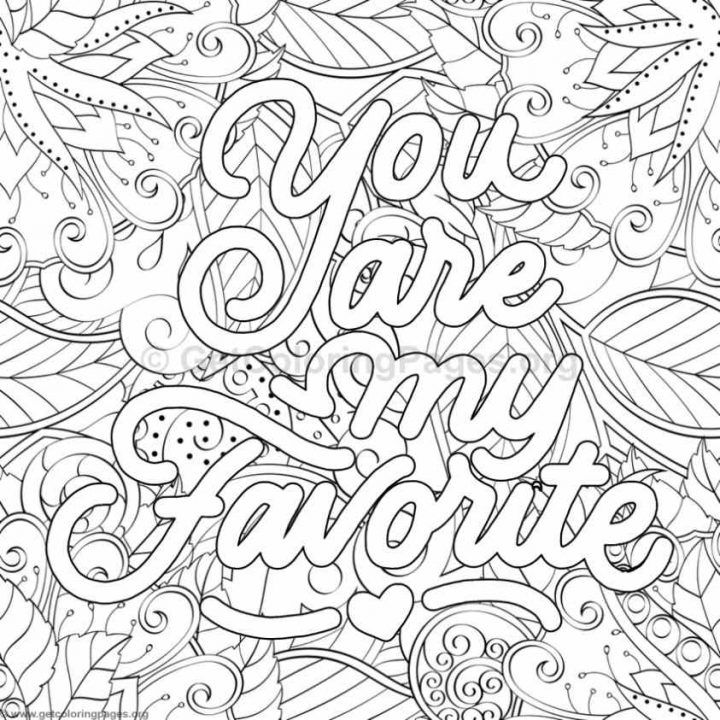 Printable Coloring Pages For Adults Pdf