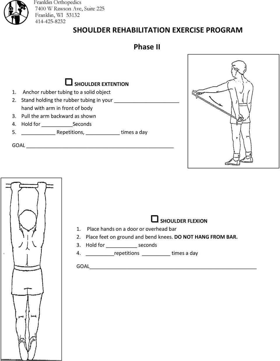 Printable Rotator Cuff Exercises Pdf
