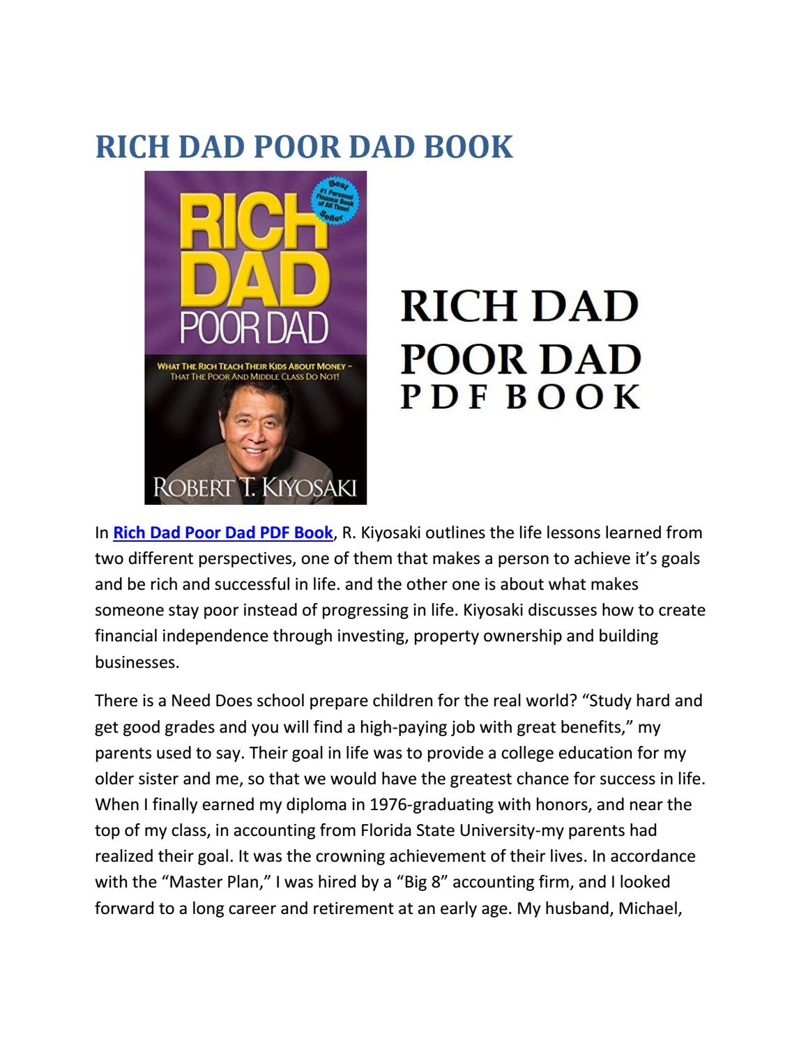 Rich Dad Poor Dad Pdf Free