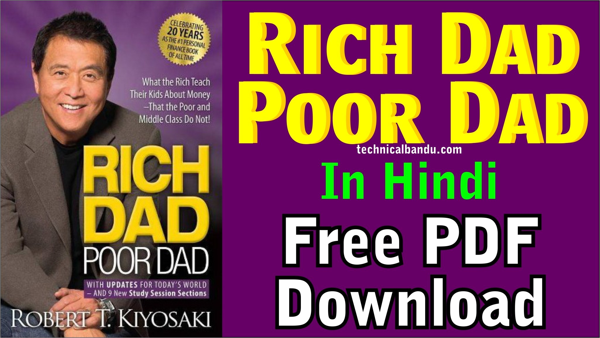Rich Dad Poor Dad Pdf In Hindi