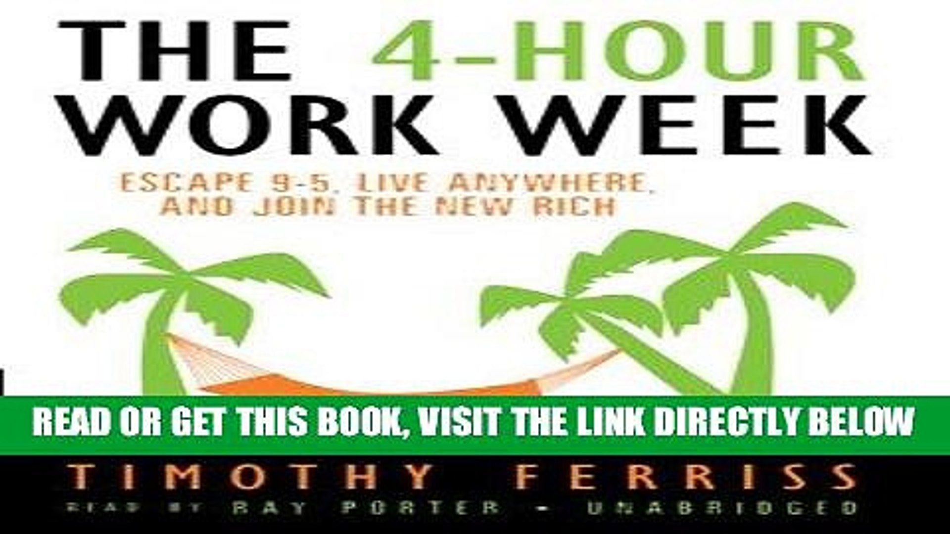 The 4 Hour Work Week Pdf