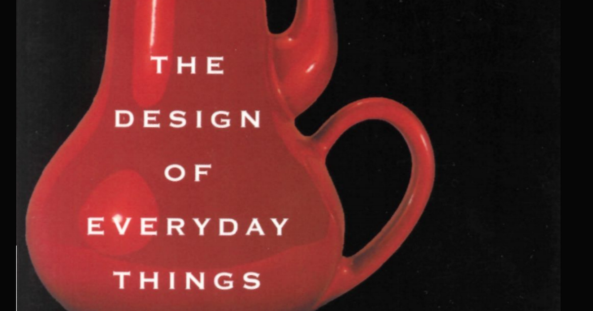 The Design Of Everyday Things Pdf Don Norman