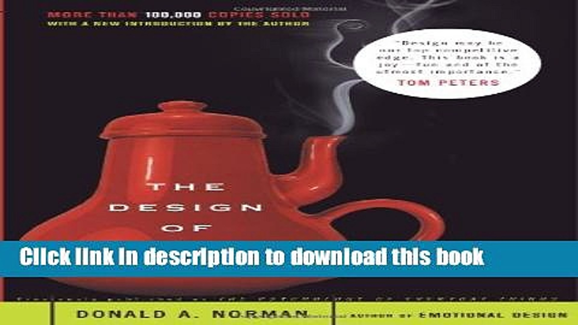 The Design Of Everyday Things Pdf Free
