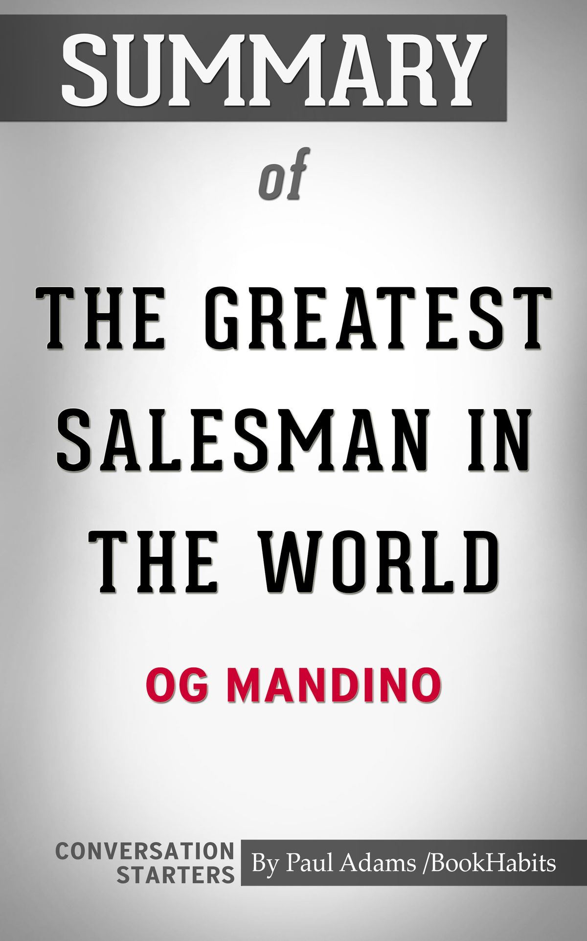 The Greatest Salesman In The World Pdf Free