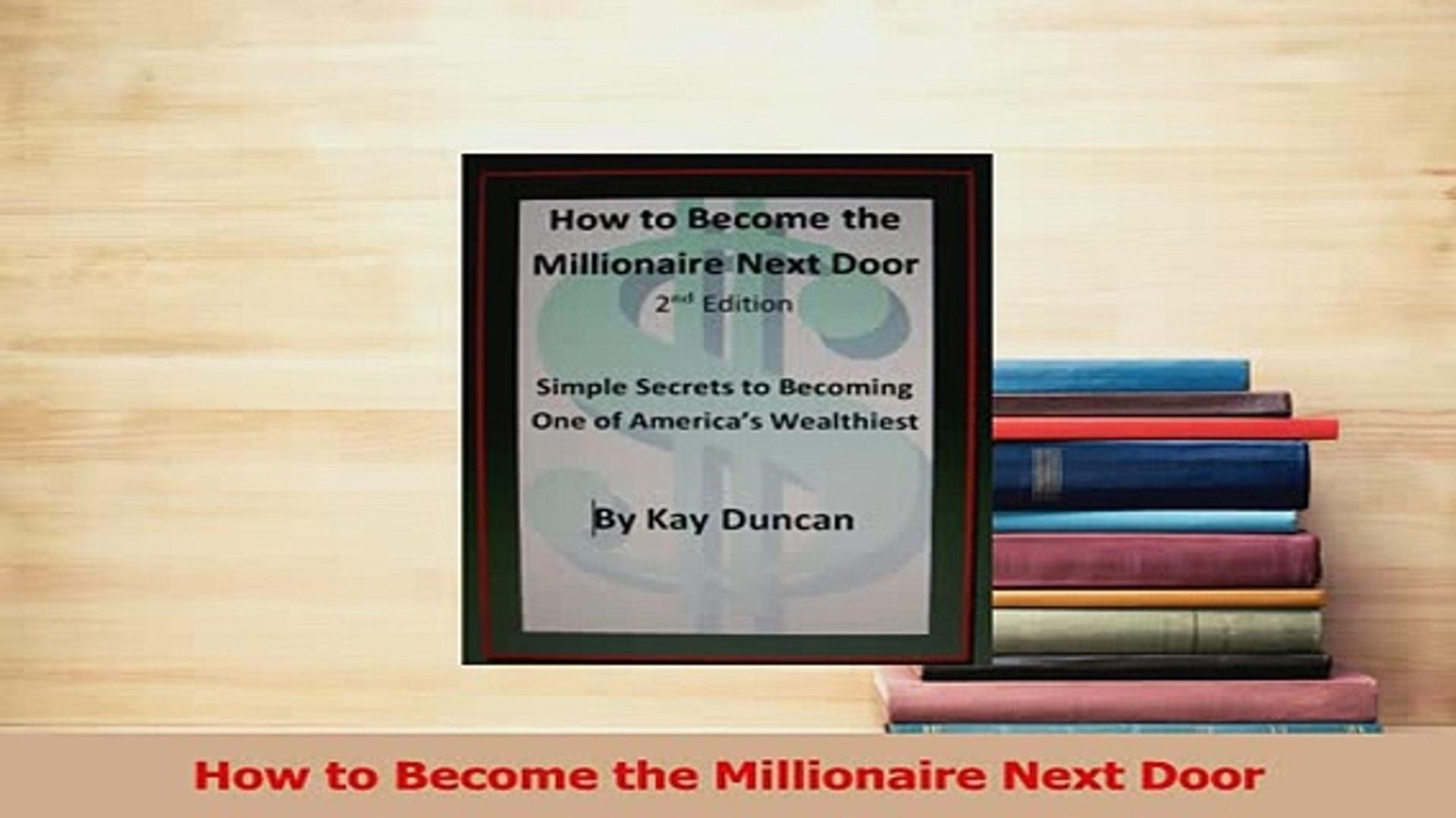 The Millionaire Next Door Pdf Free
