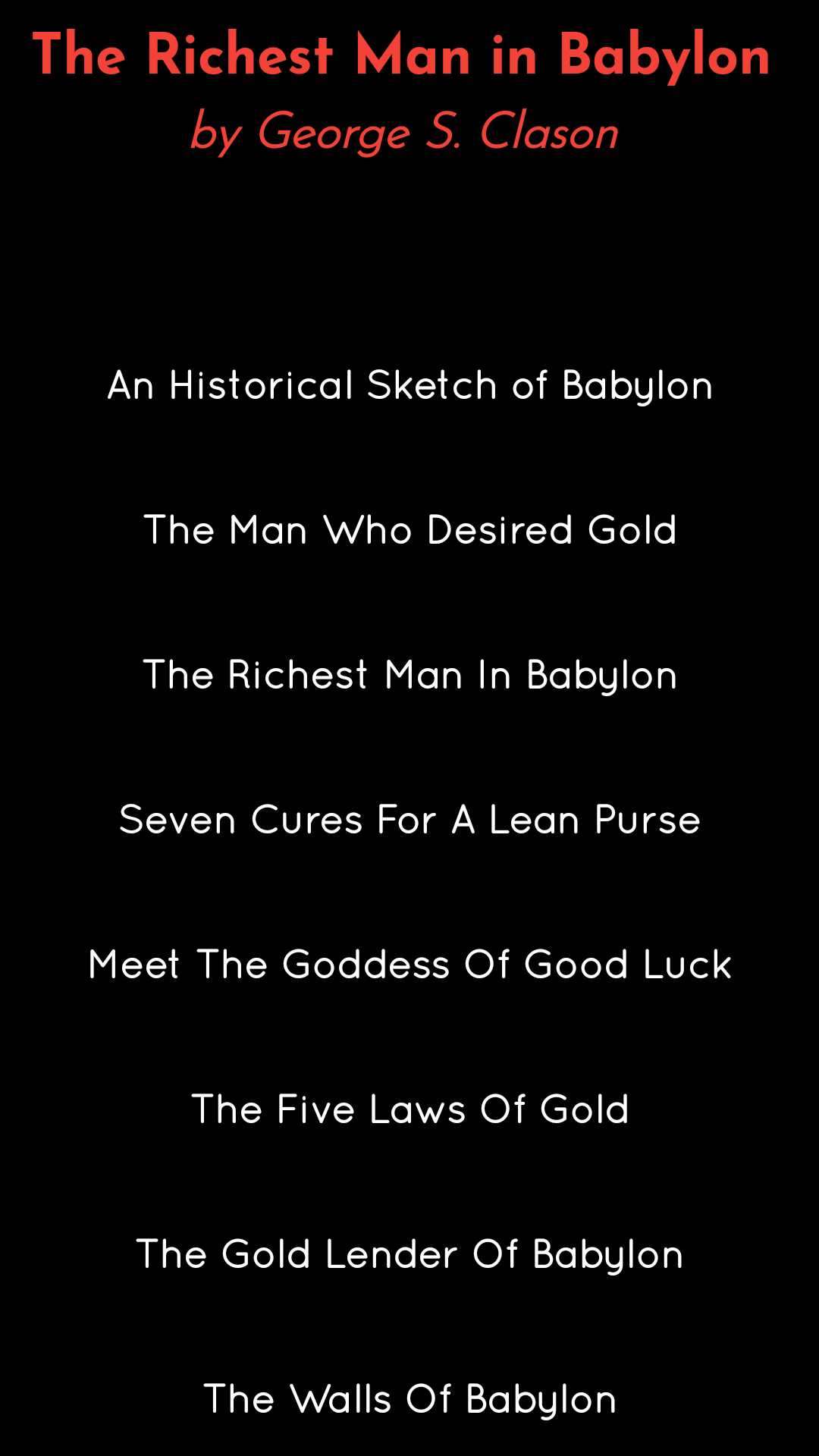 The Richest Man In Babylon Pdf Free Book