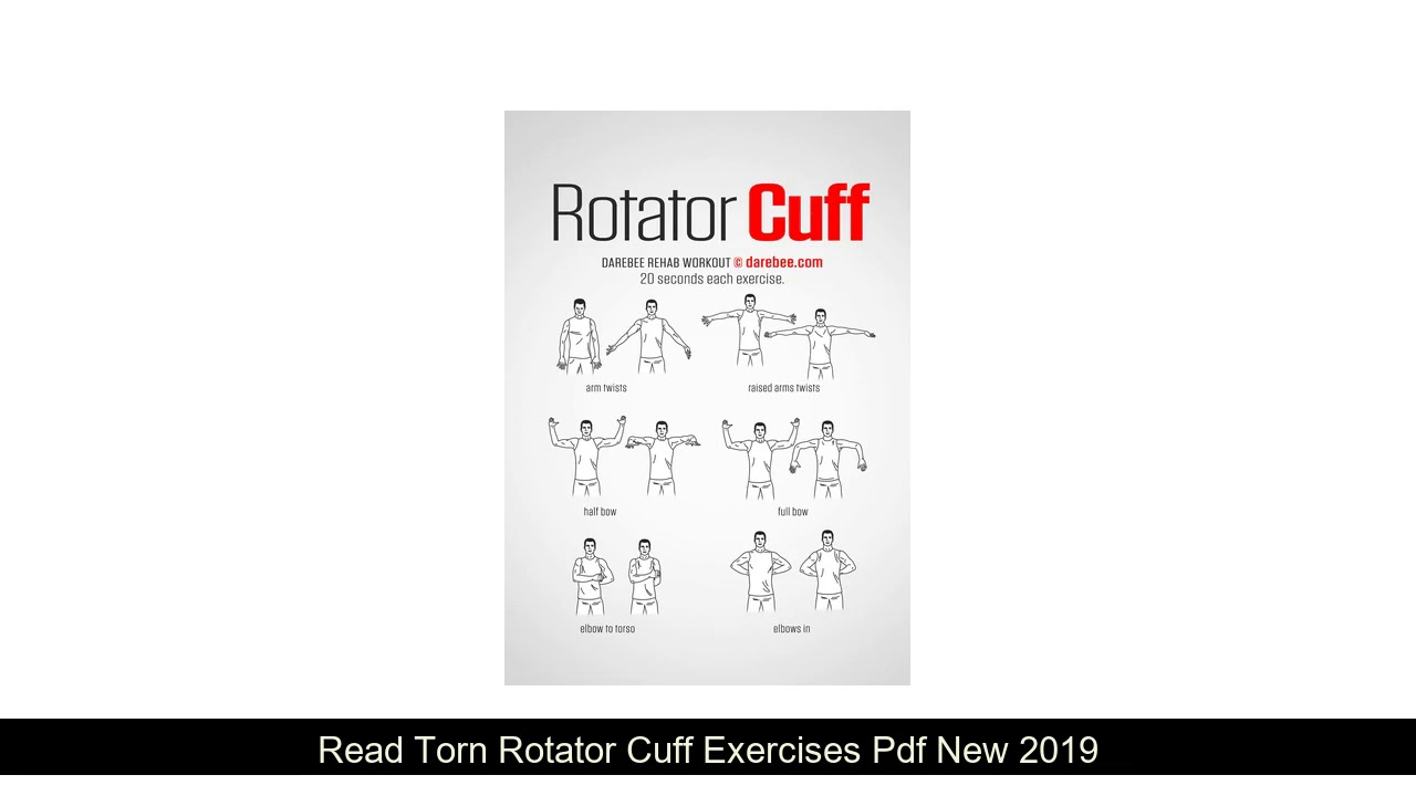 Torn Rotator Cuff Exercises Pdf