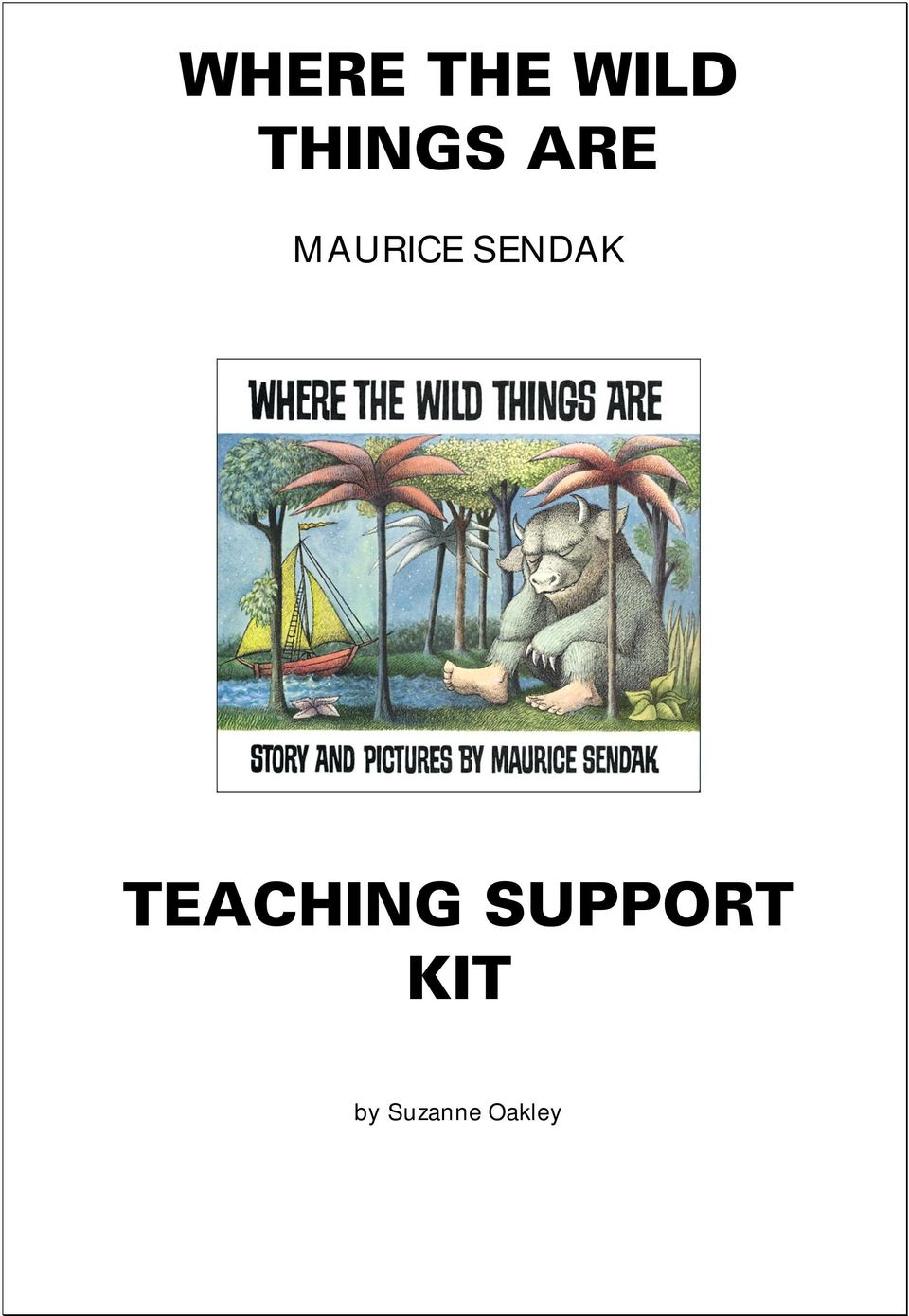 Where The Wild Things Are Pdf Free