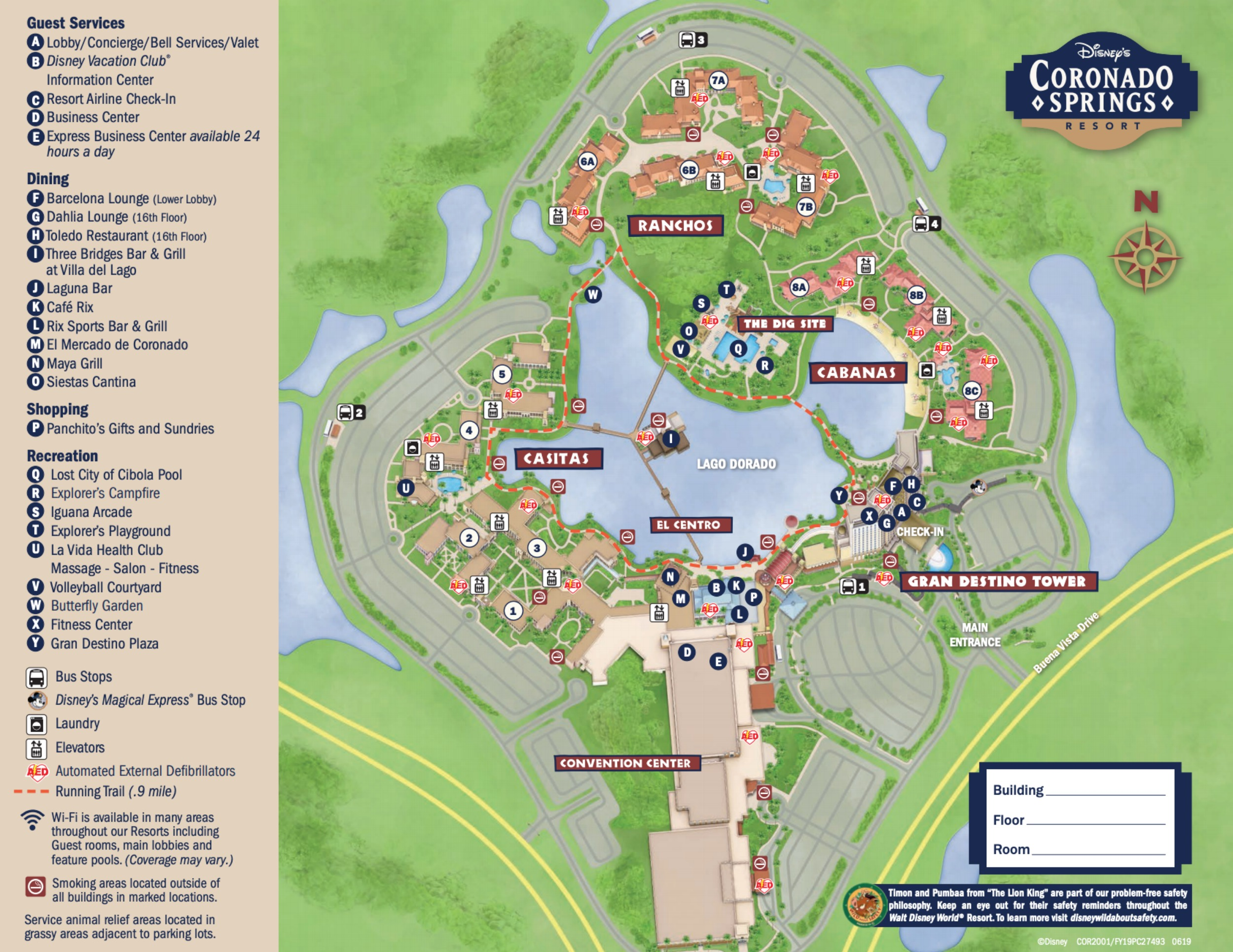 2019 Pdf Disney Springs Map 2020
