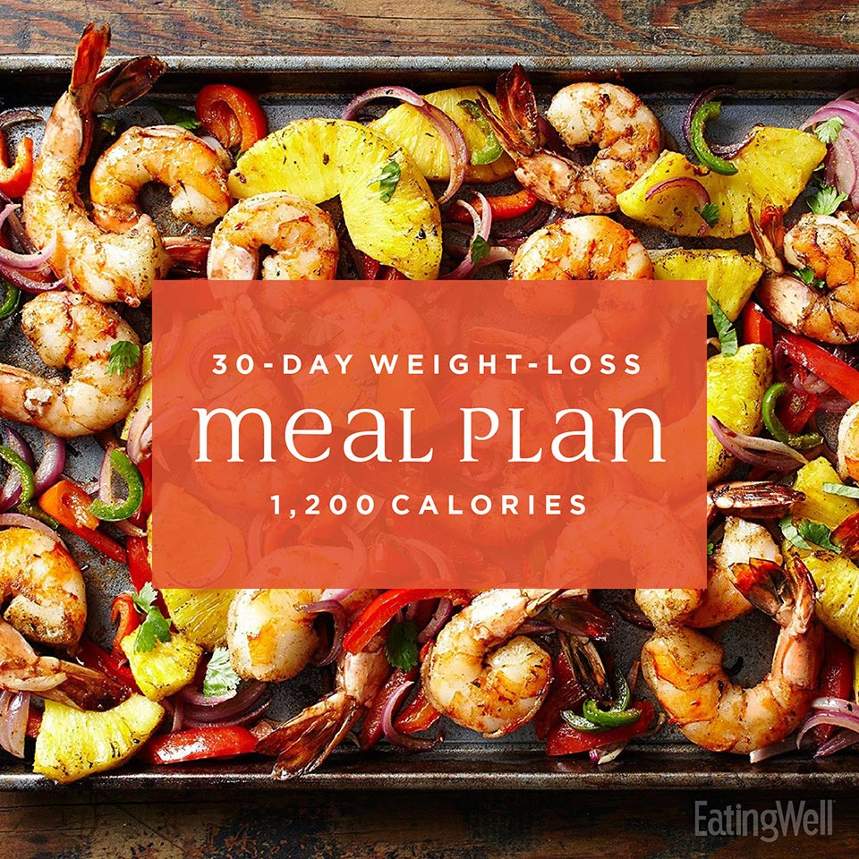 30 Day 1200 Calorie Meal Plan Pdf