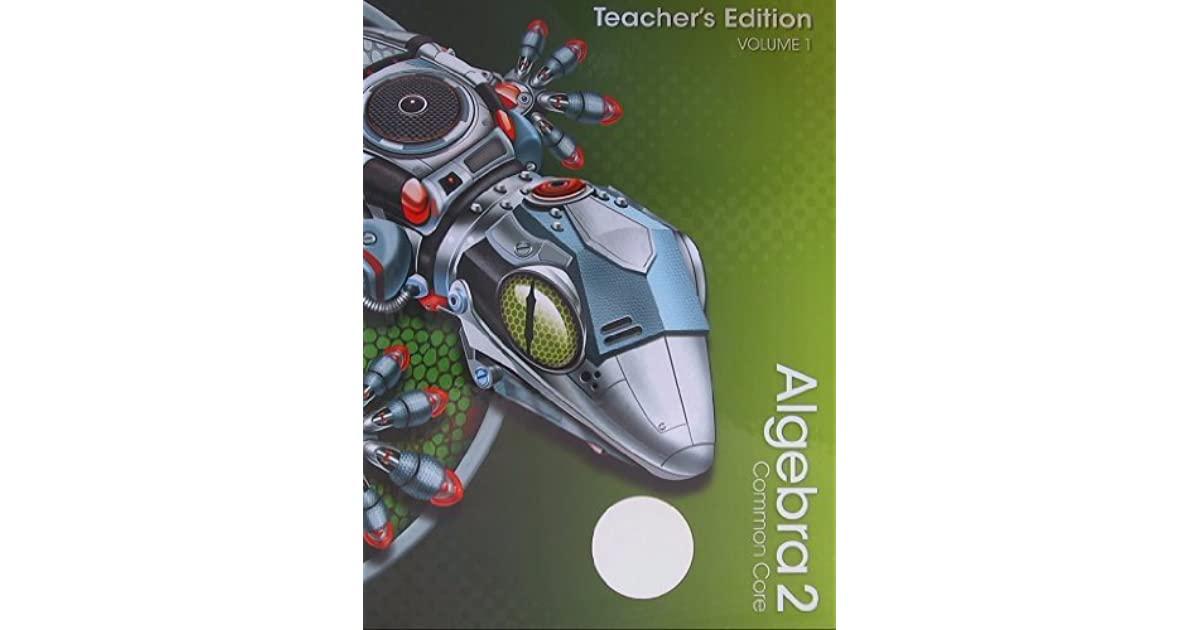 Algebra 2 Common Core Pearson Textbook Pdf