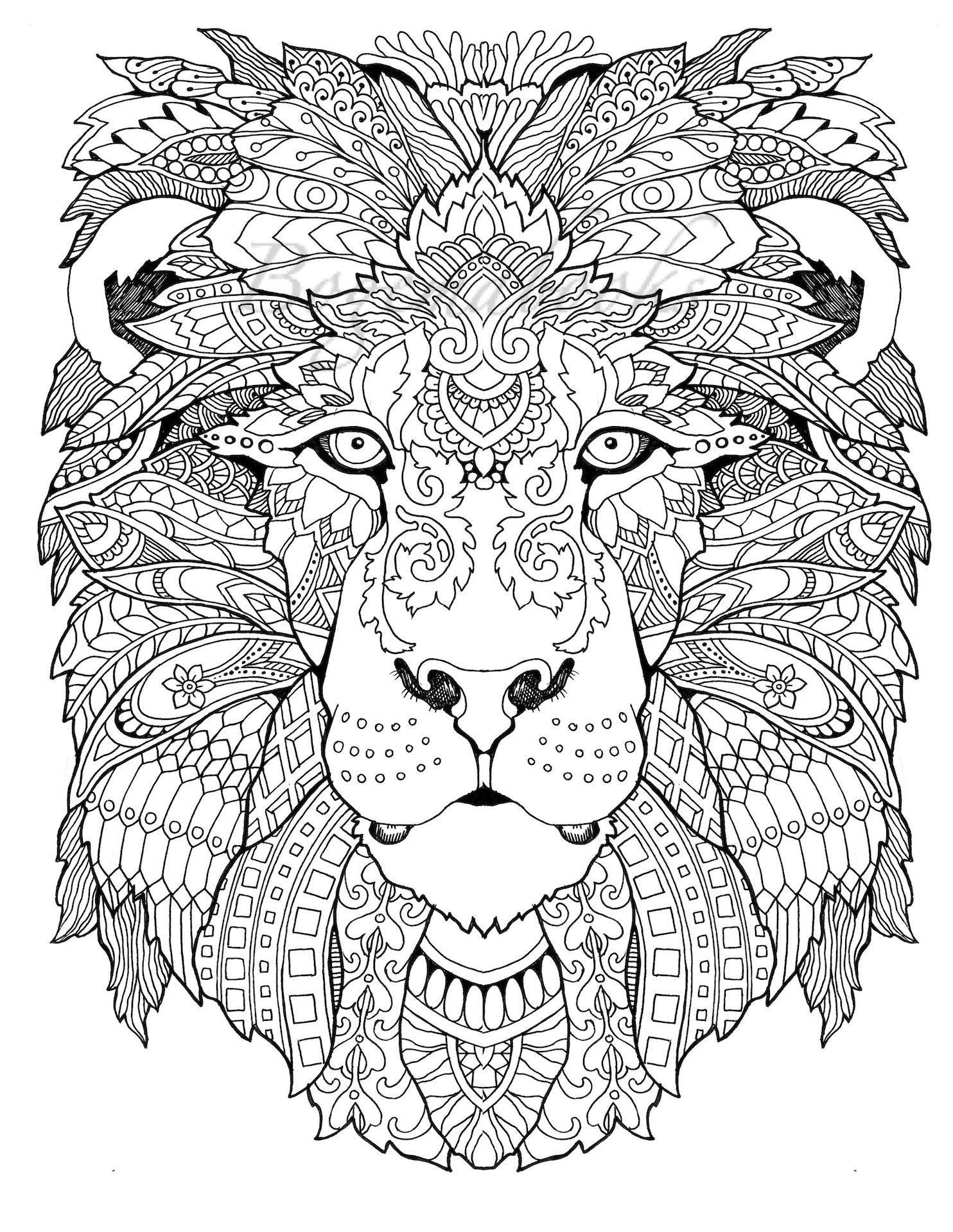Animal Free Coloring Pages Pdf Format