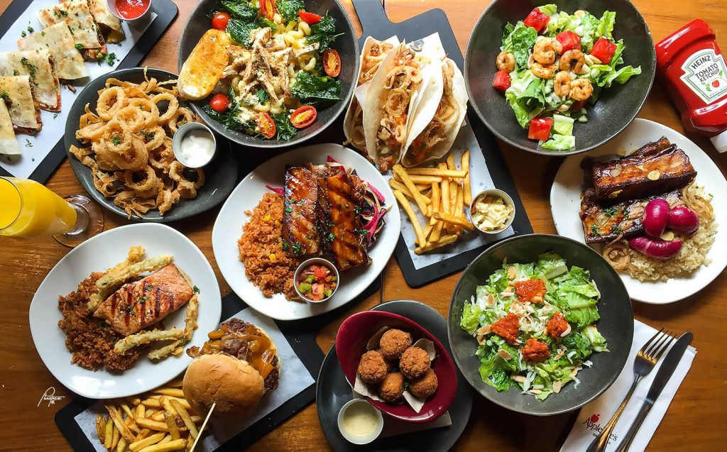 Applebees Menu Pdf 2020