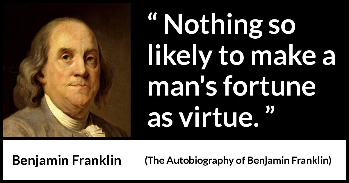 Benjamin Franklin Autobiography Pdf Free Download