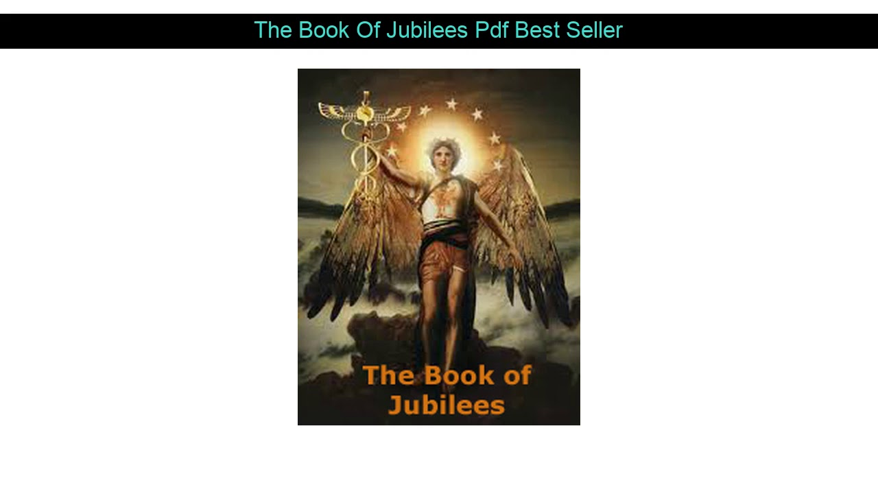 Book Of Jubilees Pdf