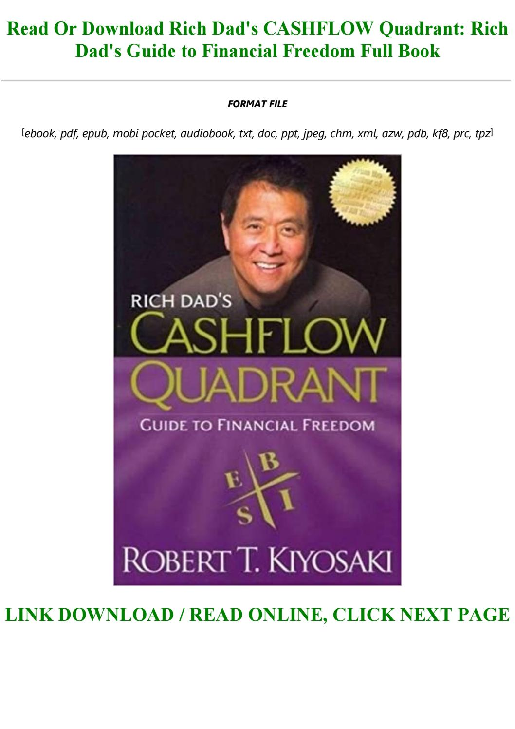Cashflow Quadrant Pdf Download