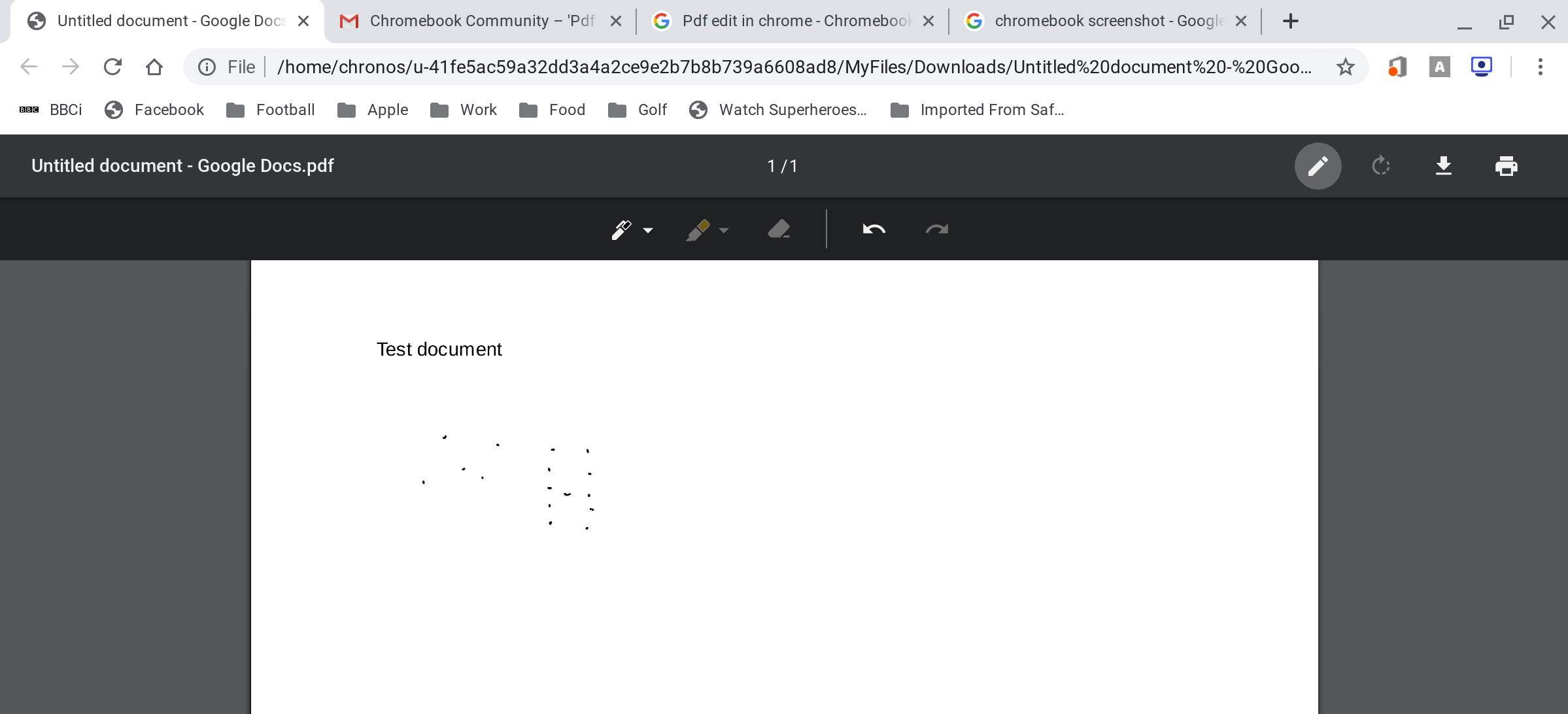 Chromebook Pdf Editor Free