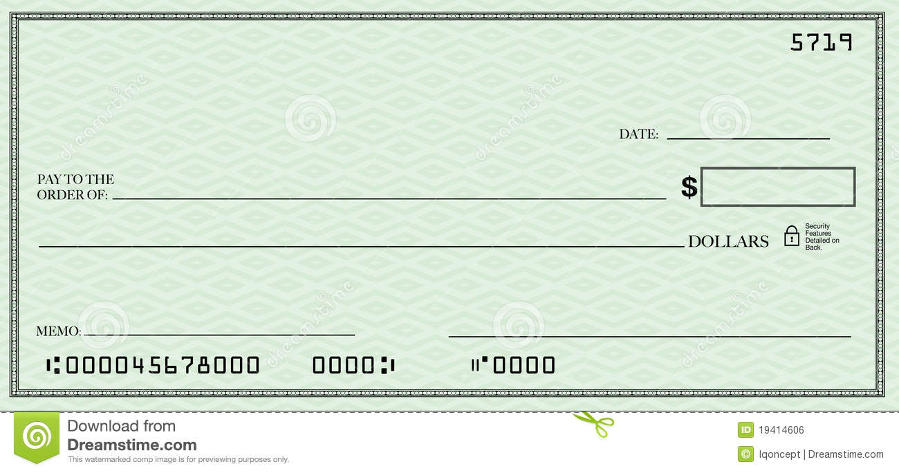Customizable Free Blank Check Template Pdf £