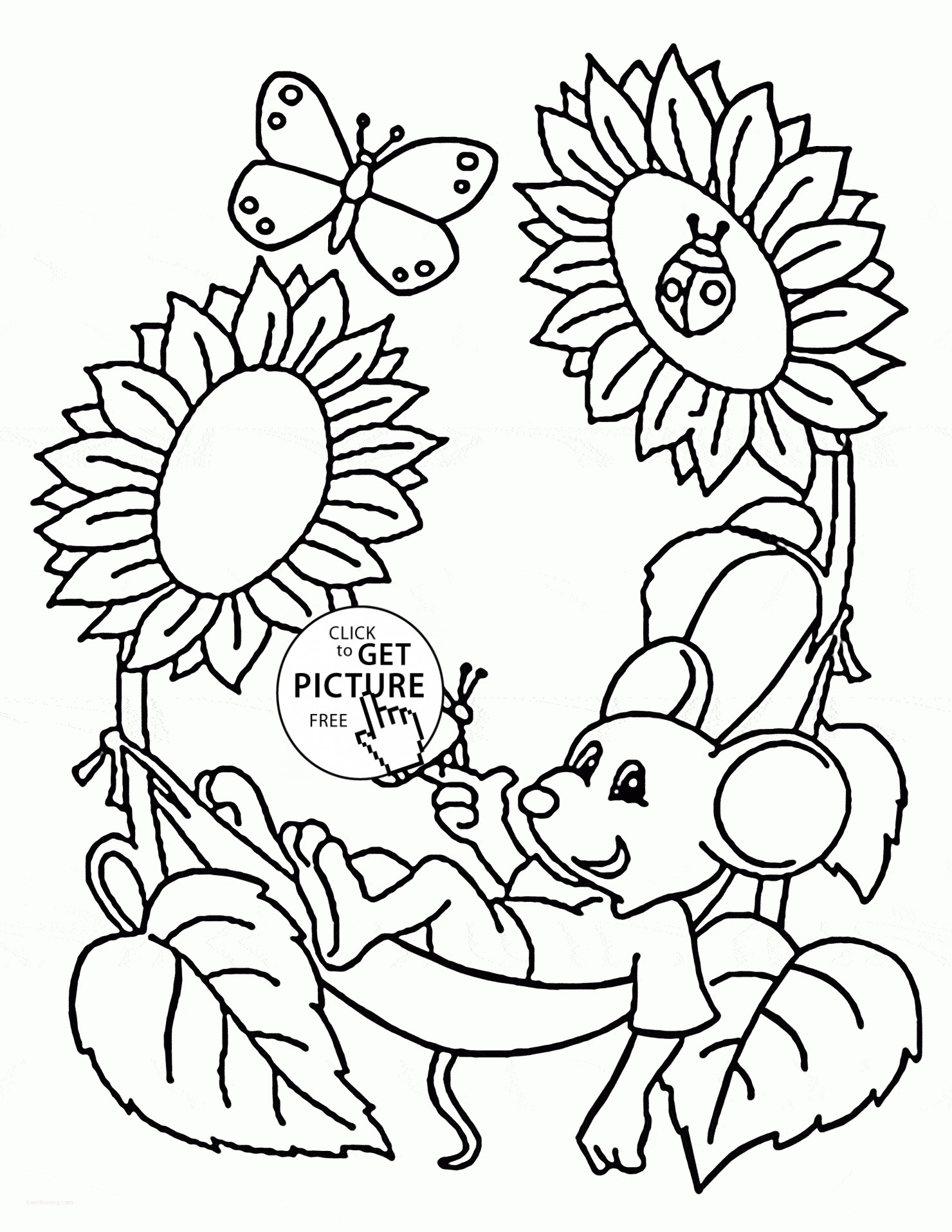 Cute Kids Coloring Pages Pdf